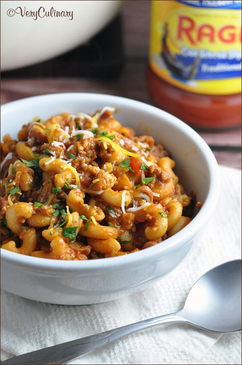 Two favorite comfort foods come together in this super easy, one-pot dish that the whole family will go crazy for!