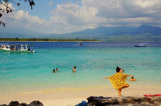 Serene: In the frantic pace of modern life, a quiet place like Gili Meno is indeed a slice of paradise. (Photo by Radity...