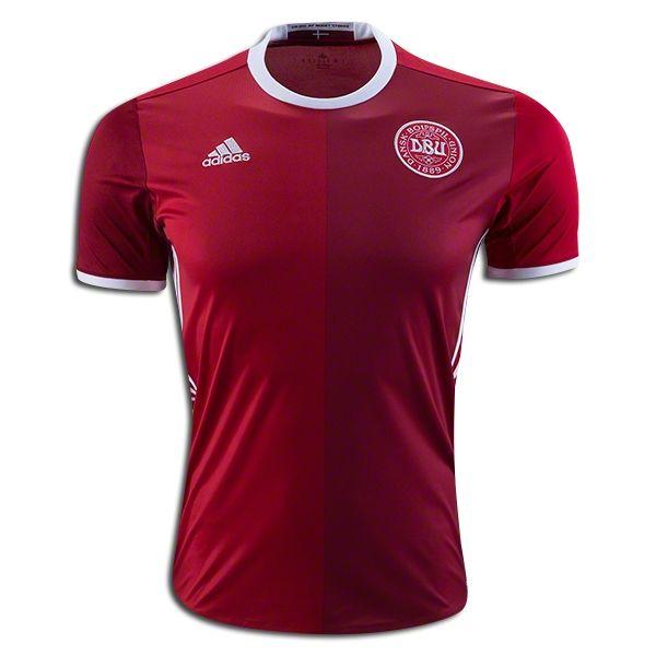 Andreas Christensen 6 2018 FIFA World Cup Denmark Home Soccer Jersey