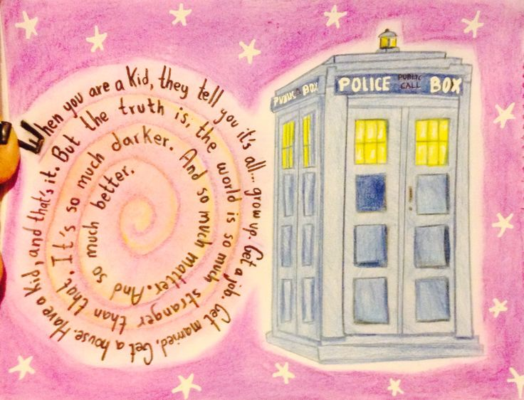 Dr. Who the best show ever! Hope you like it..