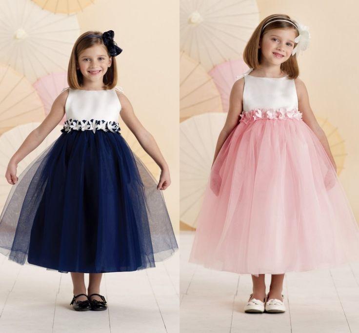 Цветок девочки платья для свадеб дети платья выпускного вечера pageant платья для маленьких девочек платья для девочек 10 12