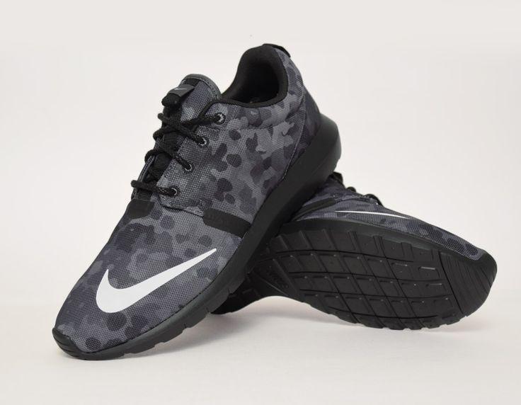 nike roshe run nm fb black camo shoes pinterest