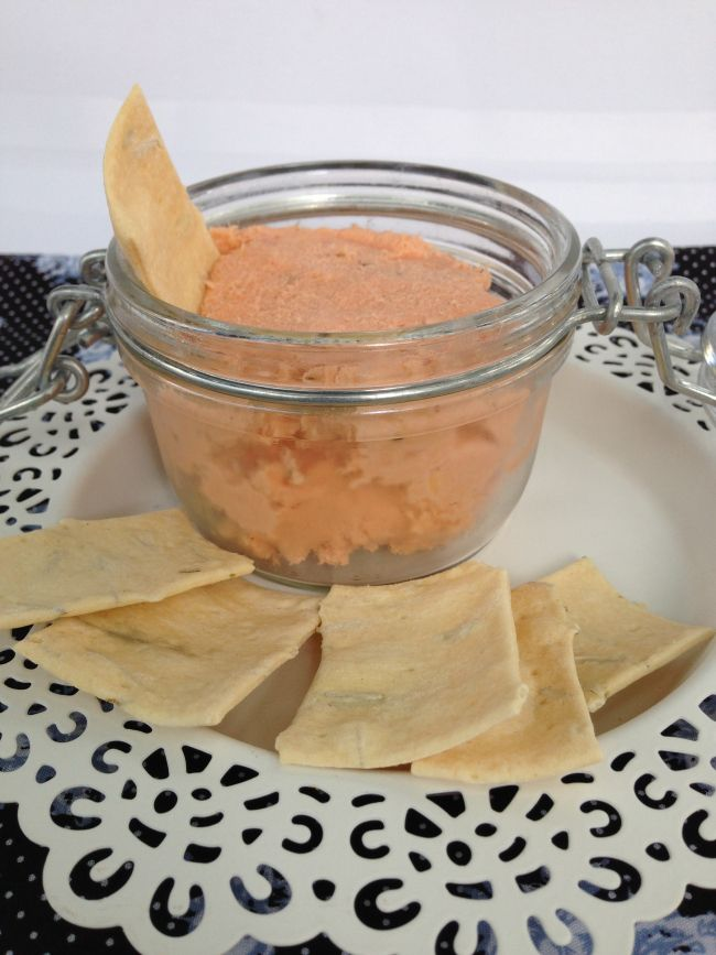 hot smoked salmon rillettes. The Hungry Mum
