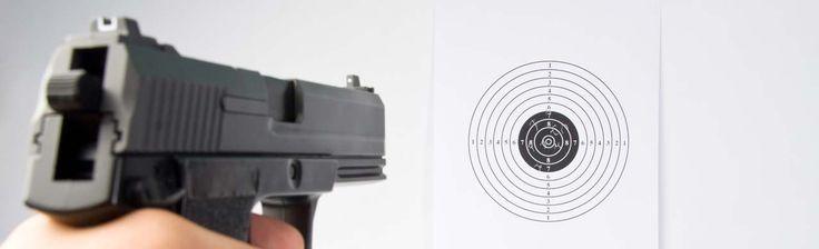 Prova på pistolskytte VIP-paket i Stockholm 2495 kr/person. Skarpladdade vapen och riktig ammunition med erfarna instruktörer.