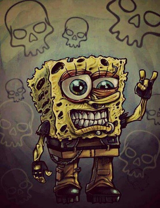 Metal Spongebob Yes