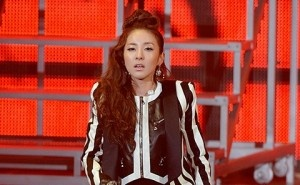 2ne1 sandara park kpop fashion seoul music awards balmain spring 2013