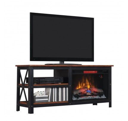 TV fireplace suite