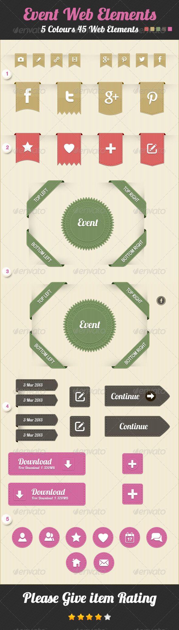 Event Web Elements