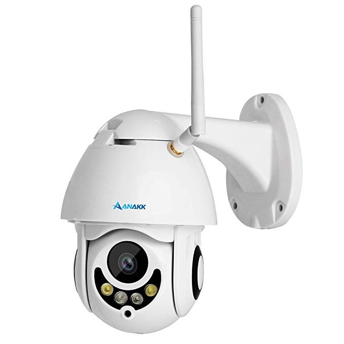 Anakk Outdoor Wireless Wifi Security Camera Pan Tilt HD 1080P IP