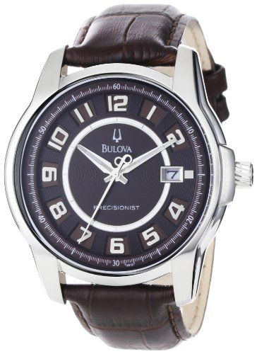 DISCOUNT FOR Bulova-96B128-Precisionist-Claremont-Leather Please visit http://teetah.net/r/Bulova-96B128-Precisionist-Claremont-Leather.html