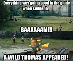 So funny. When I first saw it I thought ok what about the name since Thomas looks like a pikachu.