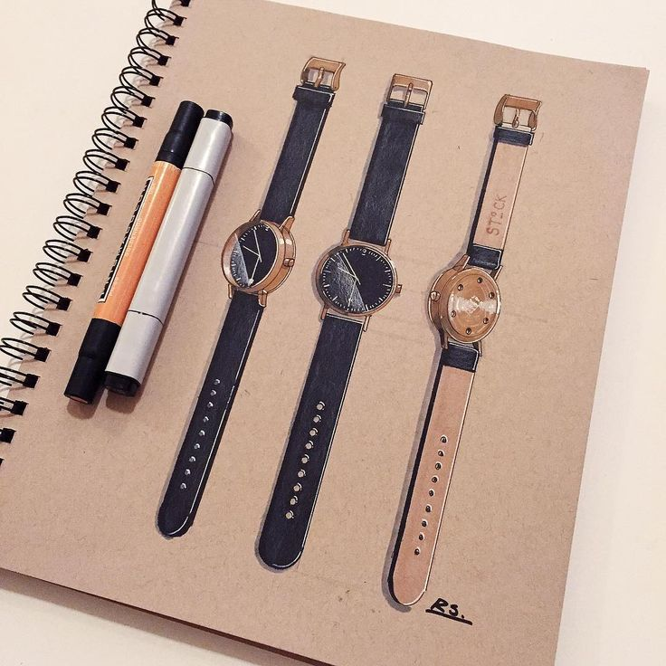 Beautiful Stock Watch S004. I really love this simple beauty especially the white hands and the back details! @stock_watches #industrialdesign #productdesign #idsketching #sketching #sketch #sketchbook #drawing #design #watch #ID #diseñoindustrial