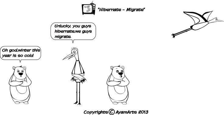 Hibernate / Migrate......Cheers