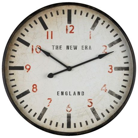 Ordered for my kitchen...impatiently waiting! It's a big one - 91cm.   New Era Clock 91cm | Freedom Furniture and Homewares