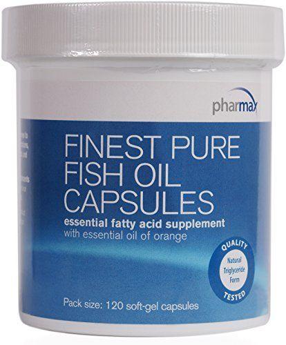 pharmax finest pure fish oil capsules