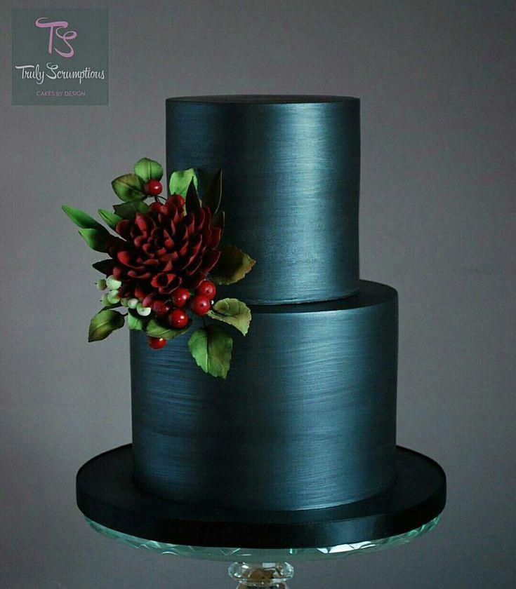 Hochzeitsideen nach Farbe: Grüne Hochzeitstorten – mutig und schön | CHWV   – Kuchen