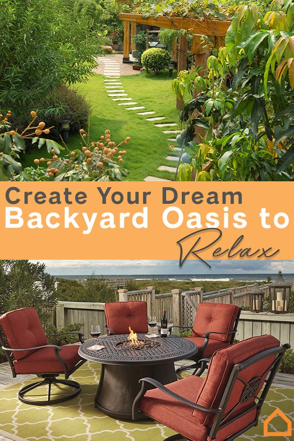 Whether you have a small deck or a large tract of land, find out how to create an oasis right in your own backyard.