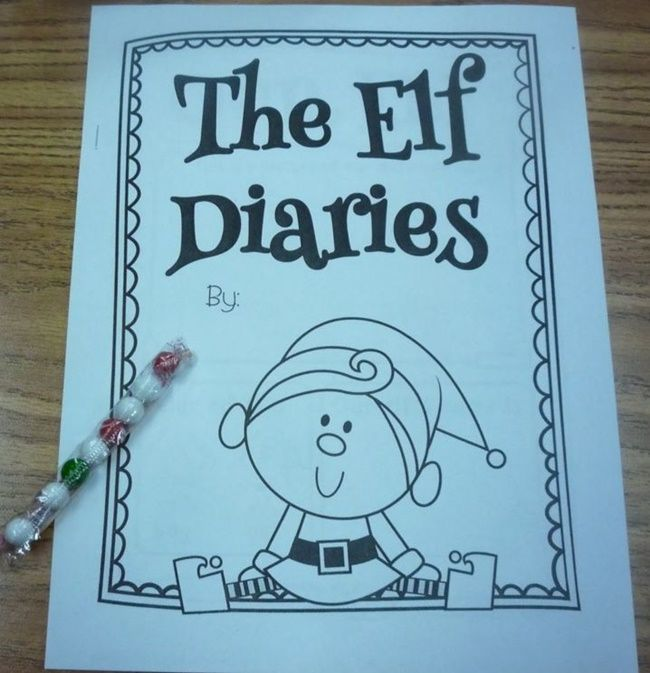 If you dig taking your class on an Elf on the Shelf adventure in December, then you might need this classroom elf diary.