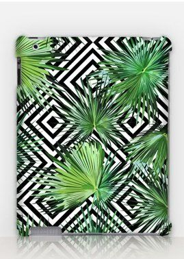 Classy Tropical Floral iPad Case