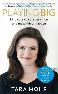 """""""You simply need to learn how to live with the inner voice of self-doubt but not be held back by it, so hear the voice and not take direction from it."""" -- Tara Mohr    #TaraMohr #PlayingBig #Books"""