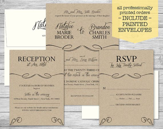 9 best Wedding Invitations images on Pinterest