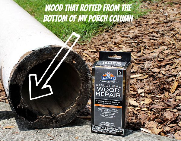 Hometalk :: Rotten Wood Repair: A Two Prong Attack With the Help of Elmer