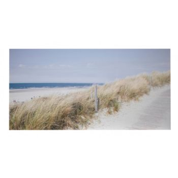 Bord de mer fly rivage toile imprim e 160x80 cm plage bleu for Toile de plage ikea