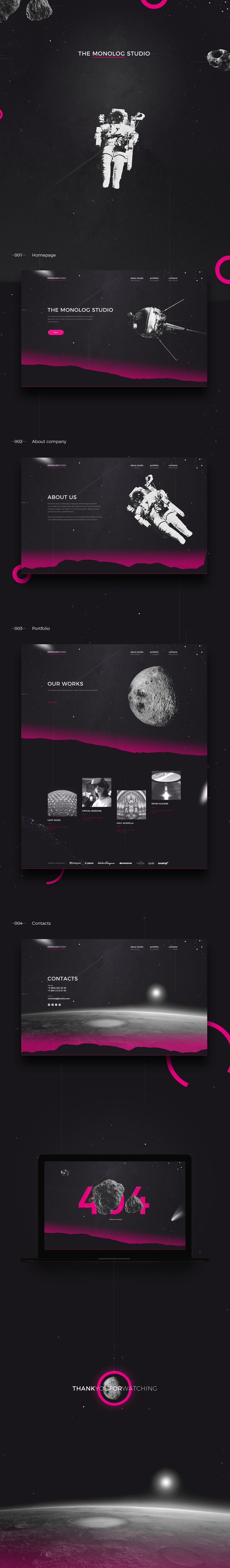https://www.behance.net/gallery/47108299/Monolog-Website