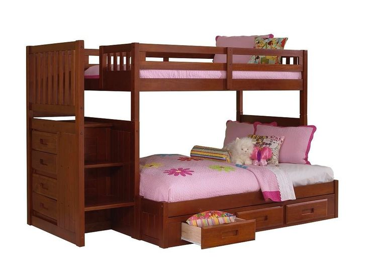 51 Best Bunk Beds Images On Pinterest Bunk Beds 3 4