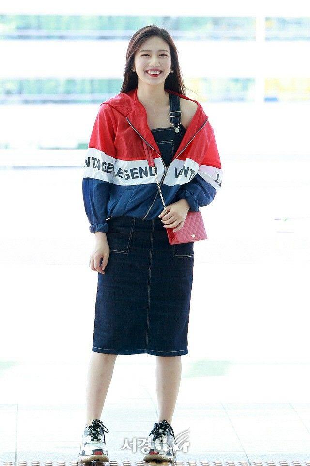 Joy #red Velvet#kpop#airport Fashion