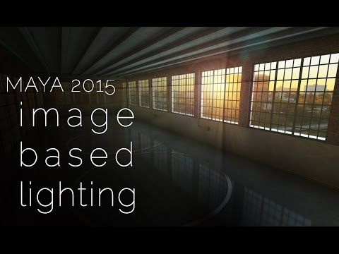 IMAGE BASED LIGHTING tutorial - do it the quick and easy way! | a Maya 2015 lighting tutorial - YouTube