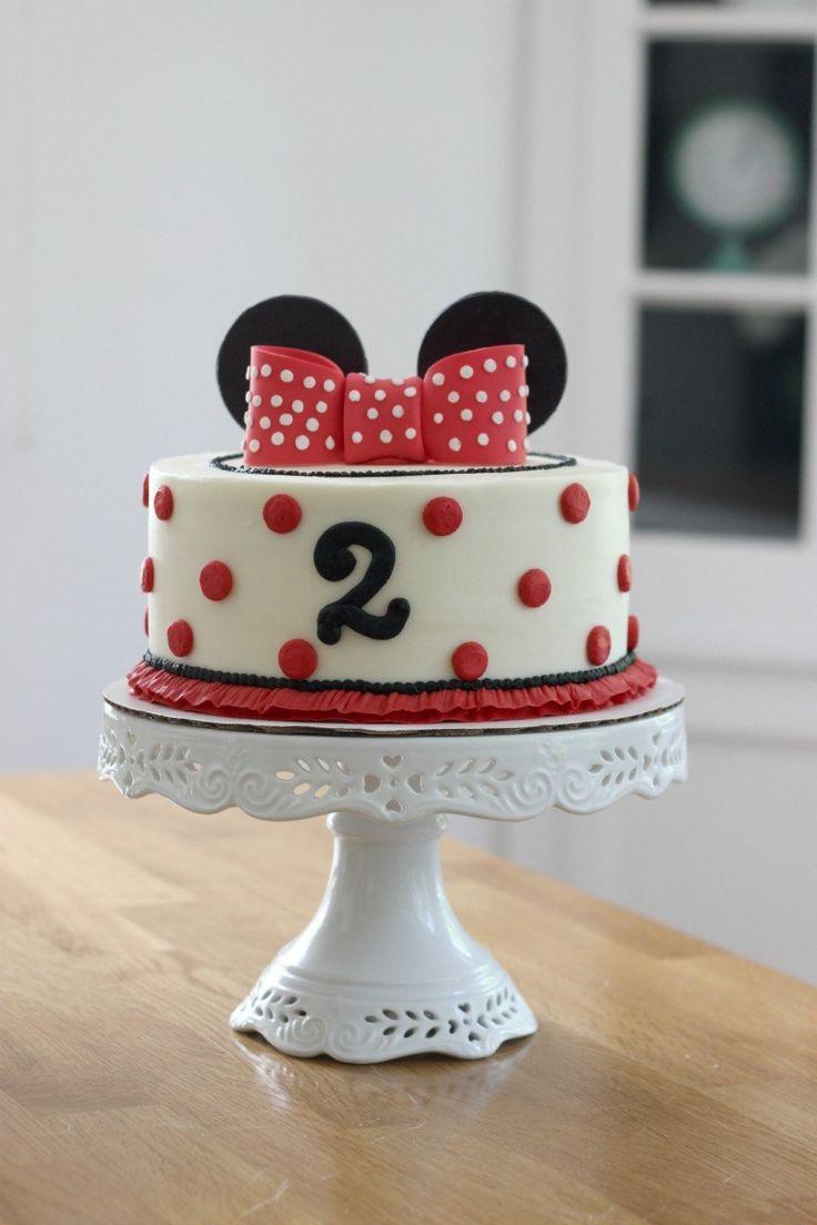 Mickey Mouse Geburtstagstorte Idee #Geburtstagstorte #Geburtstagsparty #Minniemouse   – Fiesta minnie mouse decoracion