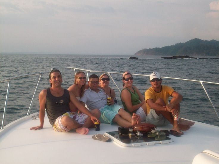 """""""Sunset Cruises"""" aboard one of our private yachts and """"Tortuga Island Day Trips"""" for a short cruise and a """"day in the sun""""! www.costaricadreams.com costa rica fishing"""