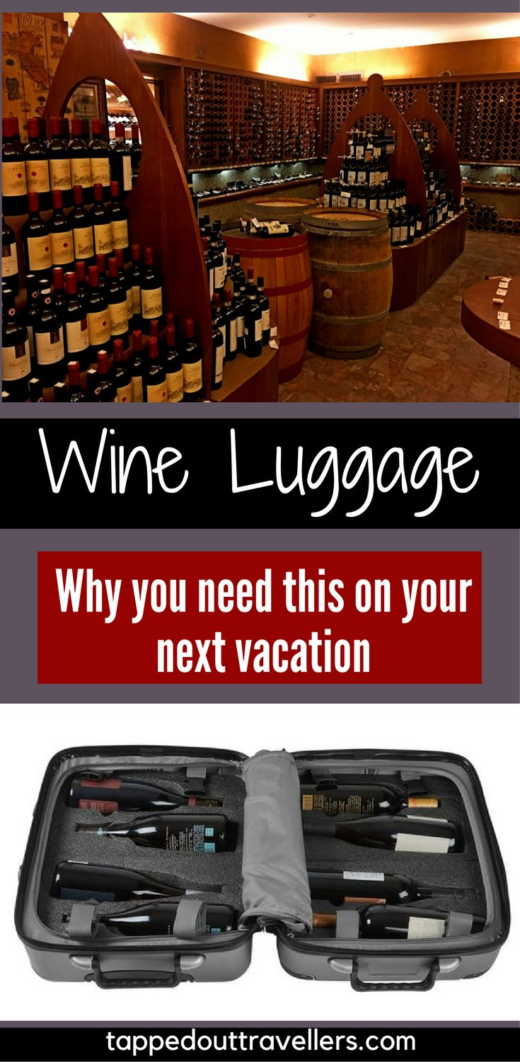 Travel with a new collection of beautiful wine? Protect your wine investment with FlyWithWine and the VinGardeValise wine carrier. Wine Luggage | Wine on Vacation | Italian wine | Italy | Vineyard