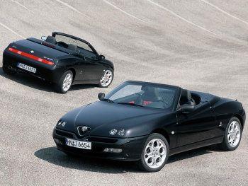 """Alfa Romeo Spider """"Edizione Elegante"""" (916) '05.2002"""