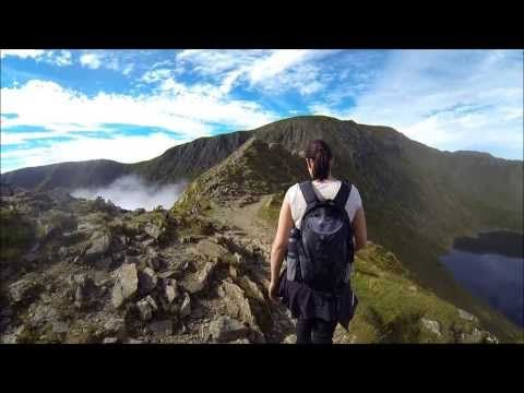 Helvellyn via Striding Edge - YouTube