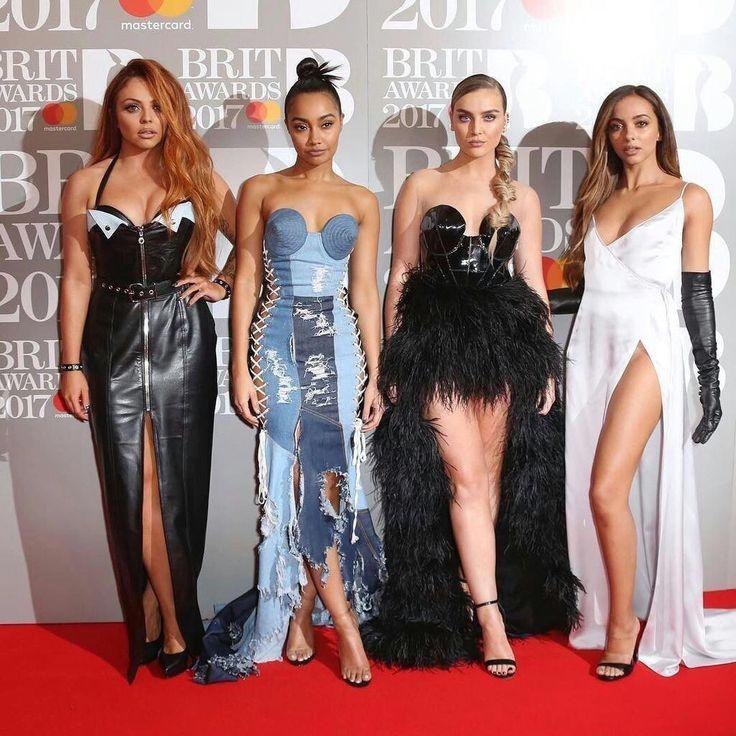 The ladies at the BRITs Awards 2017