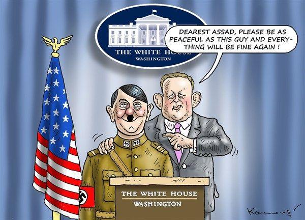 Marian Kamensky - Austria - Peace in the White House - English - white house,peace