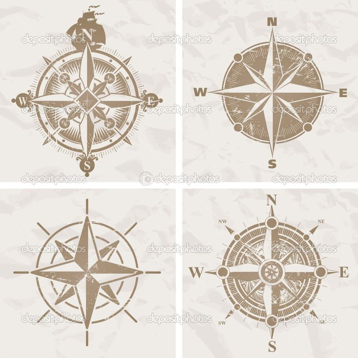 ... Vintage Compasses, Tattoo Compass, Vintage Compass Tattoo, Compass