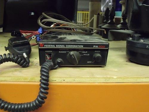 Federal Signal Siren LISTING # 14817 Ends: 2/13/2013 12:00:00 PM Eastern