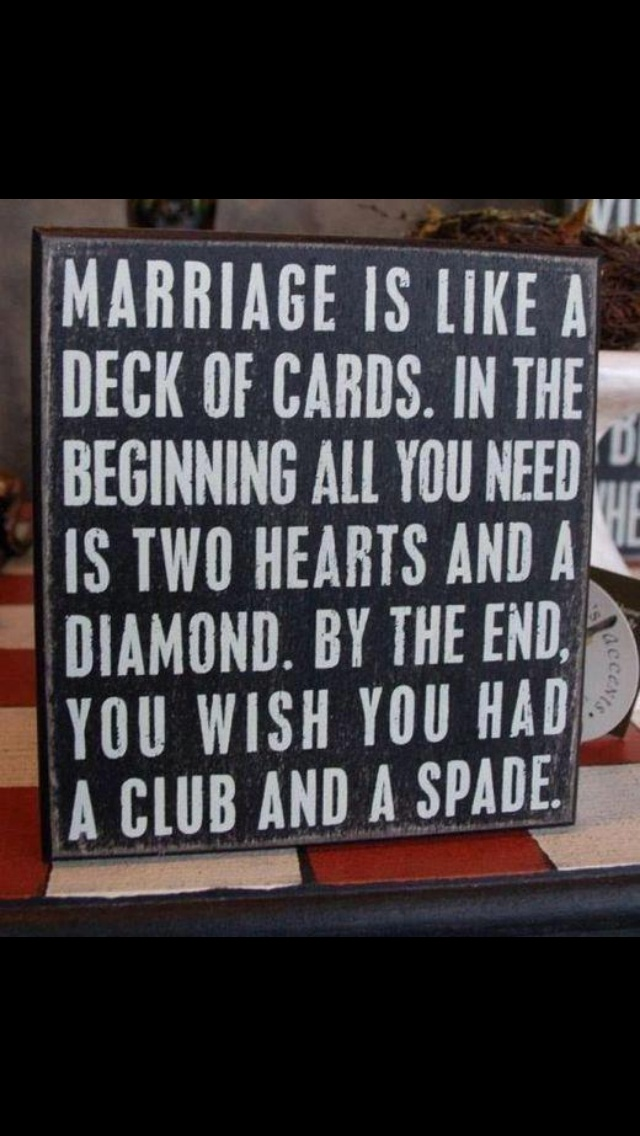 Interesting quote about marriage