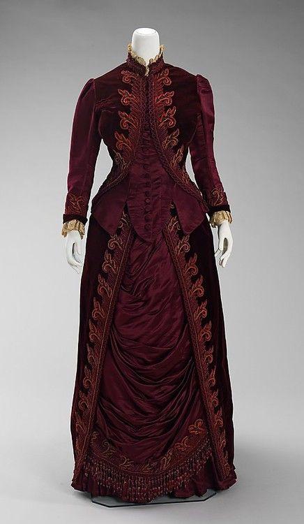 Dress Charles Fredrick Worth, 1885 The Metropolitan Museum of...