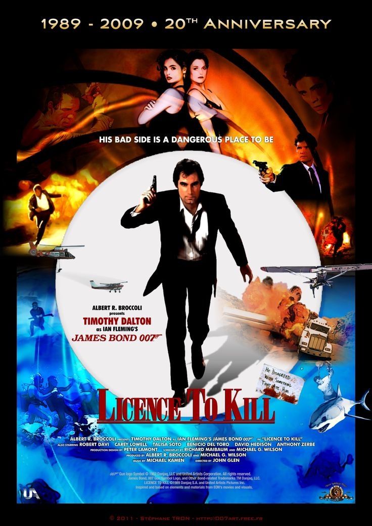 Licence To Kill Poster 2【2019】 映画