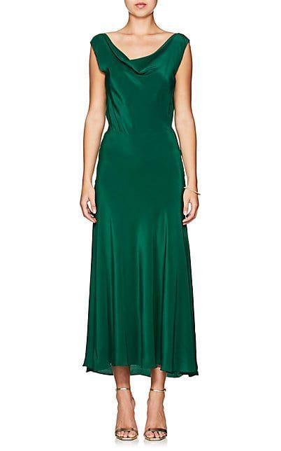 Azeeza Saunder Silk Crêpe De Chine Gown - Dresses - 505458087