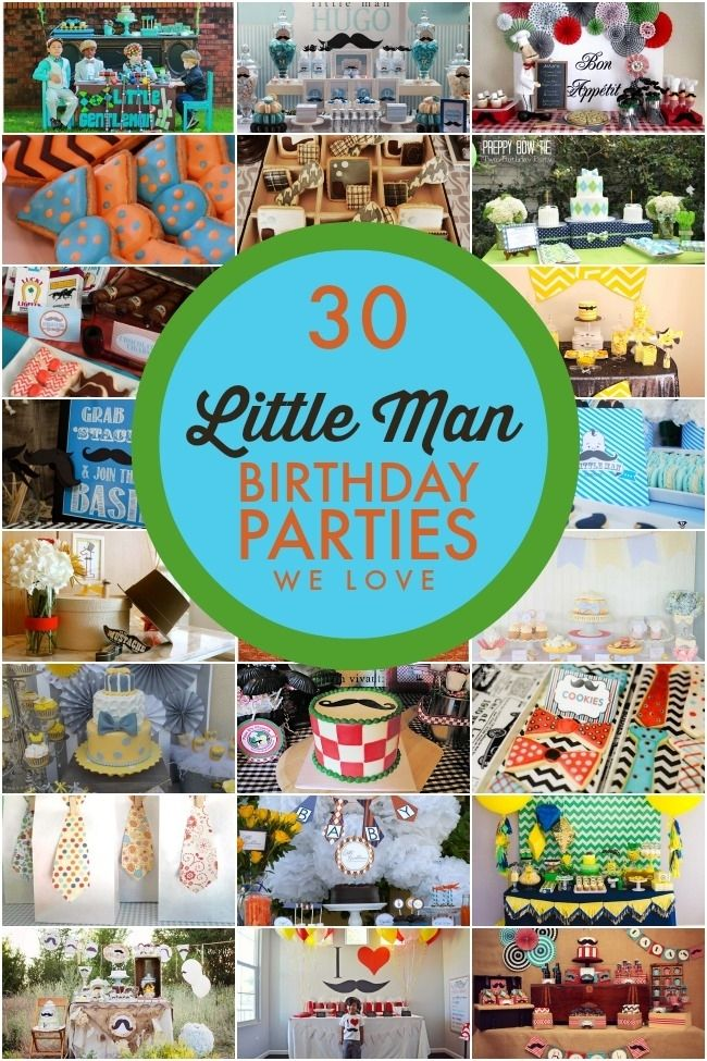 30 Little Man Mustaches Party Ideas - Blog - Spaceships and Laser Beams
