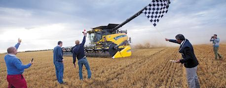 New Holland guinness record wheat