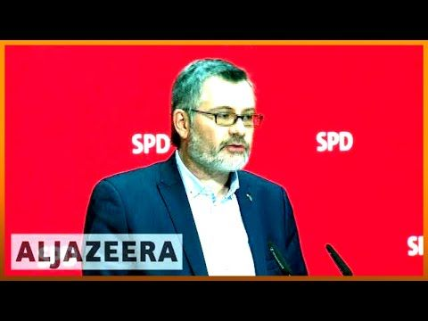 Al Jazeera English ?? Germany's Social Democrats to approve new coalition government | Al Jazeera English
