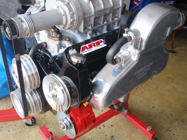 MERCRUISER V8 7.4 We install supercharger roots .Instalamos kompressor  weiand.
