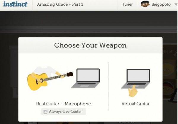 Probamos getinstinct, para aprender a tocar guitarra por Internet Por Juan Diego Polo en Música