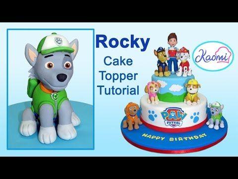 Paw Patrol (Cake Topper): Rocky / Patrulla de cachorros: Cómo hacer a Rocky - YouTube